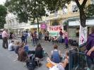Graz. 7. Friedensmahnwache am 16. Juni 2014